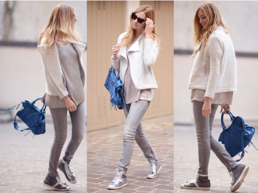 street-style-grey-knit-sweater-blue-bag-light-grey-skinny-jeans-grey-high-tops-black-sunglasses-ivory-coat-1